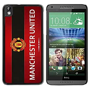 Fashionable And Unique Designed Case For HTC Desire 816 Phone Case With Manchester United 9 Black