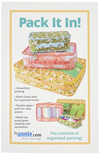 Patterns ByAnnie PBA253 Pack It in! Bags (Quilted Bag Patterns)