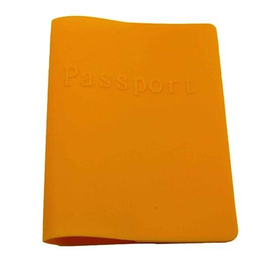 HuntGold colores brillantes para pasaporte Funda para ...