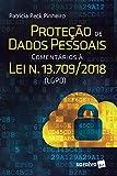 capa de Proteção de Dados Pessoais Comentários à Lei N. 13.709/2018 LGPD