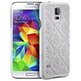 Galaxy S5 Case, GreatShield [TACT Damask Design] Flower - Best Reviews Guide