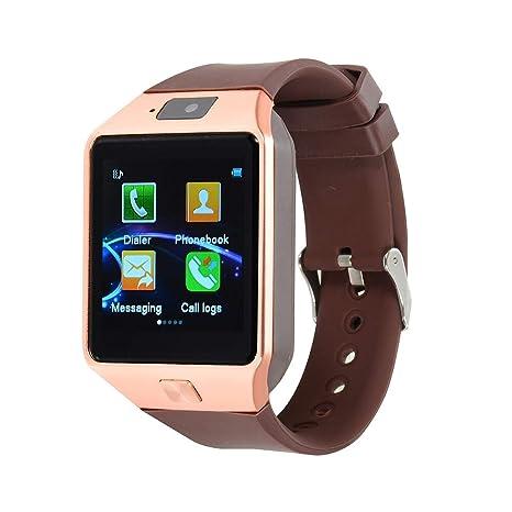 Amazon.com: BF: Smartwatch iOS Bluetooth pantalla táctil ...