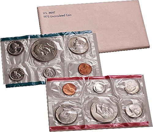 1975 U.S. Mint Set - 12 coin set With Bicentennial Commeratives