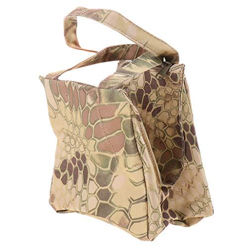 - CUTICATE Front Rear Bag Rest Target Hunting Holder Bench Sandbag, Zipper Pouch for Photography Camer Holder Carrier - Snakeskin Camo