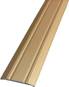 Perfil de transición Tira de madera Tira de borde Tira antideslizante de escalera Estratificación de hebilla plana Ángulo recto Líneas decorativas Borde de presión (color : B): Amazon.es: Bricolaje y herramientas