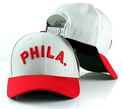 MLB American Needle Cooperstown Tradition Wool Adjustable Snapback Hat (Philadelphia Phillies)