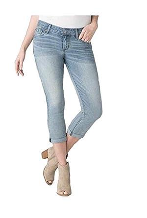 6606b234 Women's High-Rise Modern Skinny Crop Denizen Jeans - Light Wash (2 M ...