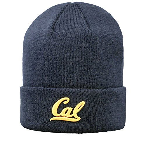 Cal Bears Official NCAA Cuffed Knit Tow Beanie Stocking Stretch Sock Hat Cap by Top of the World 933467