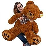 cucunu Large Teddy Bear Brown XL - 40 inches Stuffed Animal - Plush Toy