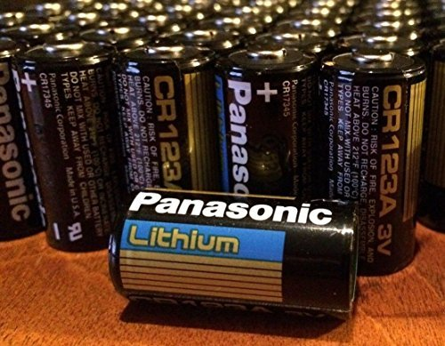 5 X 10 pcs Panasonic Lithium CR123A 3V Photo Lithium - Panasonic Photo