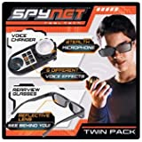 SpyNet Voice Changer and Rear View Glasses.