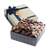 Gourmet Hamper Gift Tray, Nut Platter with Assorted Pecan Selection, Featuring Pralines, Roasted Salted Pecans, and More, 700 GRAMS, By Benevelo Gifts