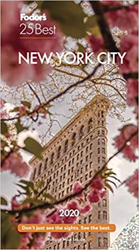 Best New Books 2020 Fodor's New York City 25 Best 2020 (Full color Travel Guide