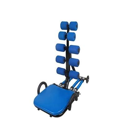Yzibei Banco de Abdominales Plegable Equipo Abdominal Multifuncional, Tabla de Abdominales, máquina de Ejercicio