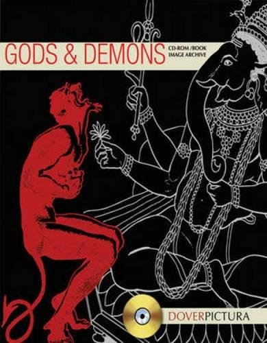 Gods & Demons (Dover Pictura Electronic Clip - God Clipart