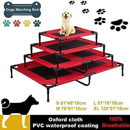 Bigbutterfly Cama para Mascotas Perros Gatos Plegable Portatil Camping, (Capacidad de Carga: 50kg