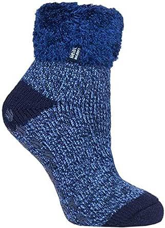 Heat Holders Warm Winter Thermal Lounge Socks UK 4-8 US 5-9