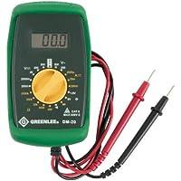 Greenlee DM-20 Manual Ranging Digital Multimeter With Test Lead by Greenlee