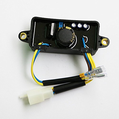 JXPARTS AVR Automatic Voltage Regulator For Harbor Freight Predator 30060-Y025110 Gasoline Generator