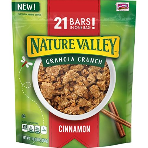 Granola Crunch Cinnamon (Nature Valley Cinnamon Granola Crunch, 16 Ounce (Pack of 3))