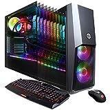 CYBERPOWERPC Gamer Supreme Liquid Cool SLC9000CPG Gaming PC (Intel i7-8700K 3.7GHz, 32GB DDR4, NVIDIA GeForce RTX 2080 Ti 11GB, 480GB SSD, 3TB HDD, 802.11AC WiFi & Win 10 Home) Black