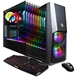 CYBERPOWERPC Gamer Supreme Liquid Cool SLC9000CPG Gaming PC (Intel i7-8700K 3.7GHz, 32GB DDR4, NVIDIA GeForce RTX 2080 Ti 11GB, 480GB SSD, 3TB HDD, 802.11AC WiFi & Win 10 Home) Black