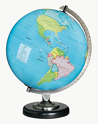 "Replogle Day/Night Blue Constellations Desk Top Globe 12"" Diameter"