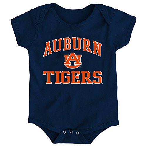 Gen 2 NCAA Auburn Tigers Newborn & Infant Primary Logo Bodysuit, 18 Months, Dark - Auburn Logo Tigers Jersey