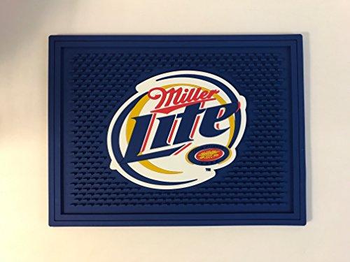 """Miller Lite Bar Pouring Spill Mat - 12"""" x 9"""""""