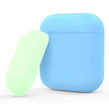 MoKo Funda de Piel Compatible con Apple AirPods 1 & AirPods ...