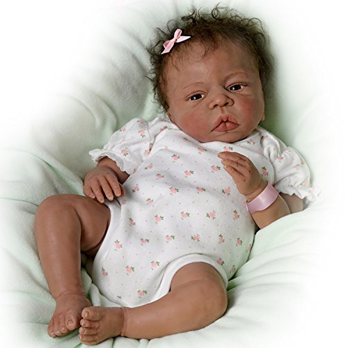 Donna Lee Baby Doll: So Blessed So Truly Real Newborn Baby Doll by The Ashton-Drake Galleries by The Ashton-Drake Galleries (Image #4)