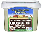 Coconut Oil Good for Hair Carrington Farms Organic Extra Virgin Coconut Oil, 12 Ounce, Packaging May Vary