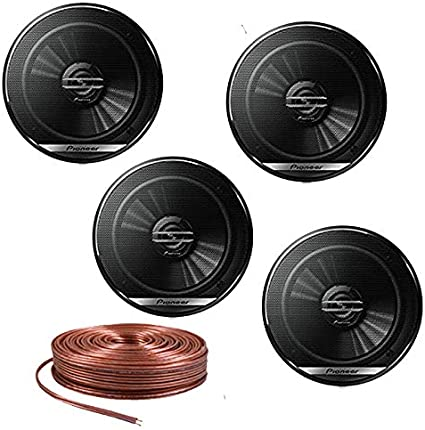 """PIONEER TS-G1620F 6.5/"""" CAR AUDIO COAXIAL 2-WAY SPEAKERS PAIR 300W MAX BRAND NEW"""
