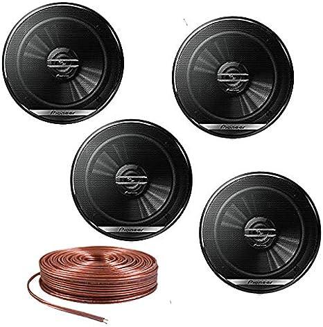// 40W Nom. NEW Pioneer TS-G1620F 6-1//2 2-Way Coaxial Speaker 300W Max