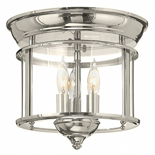 Chrome Lantern Pendant Light in Florida - 9
