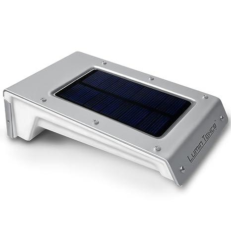 Lumin Tekco 20 LED Luces con Sensor de Movimiento Foco Inalámbrica Seguridad Solar Impermeable Sensor