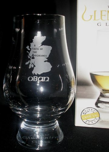OBAN''A TASTE OF THE HIGHLANDS'' GLENCAIRN SINGLE MALT SCOTCH WHISKY TASTING GLASS by Glencairn