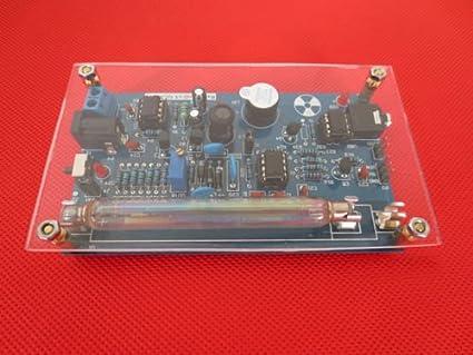 Kit de contador de geiger montado, detector de radiación nuclear GM Tube 120 x 50 mm: Amazon.es: Amazon.es