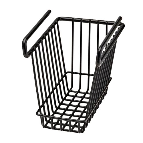 SnapSafe 76010, Hanging Shelf Basket, Medium, black by SnapSafe