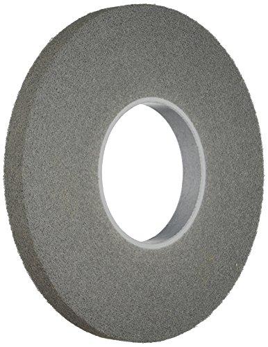 Scotch-Brite(TM) Light Deburring Wheel, Silicon Carbide, 3000 rpm, 12 Diameter x 1 Width, 5 Arbor, 6S Fine Grit (Pack of 1)