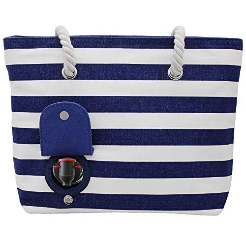 Blue Beach bag White Beach Beach PortoVino Blue PortoVino bag Blue White PortoVino Beach PortoVino bag bag Blue White Uf7wfa