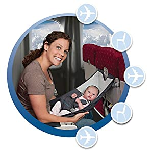 Infant Airplane Seat - Flyebaby Airplane Baby Comfort System - Air Travel with Baby Made Easy
