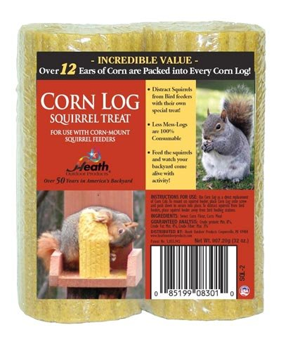 Heath Corn Log Squirrel Feed Logs ()