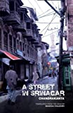 Front cover for the book A Street in Srinagar by Chandrakanta