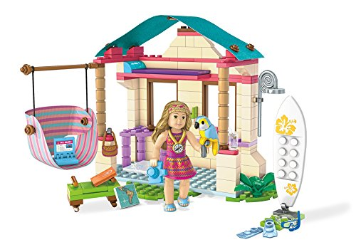 Mega Construx American Girl Lea's Beach Hut Building - Hut By Beach The