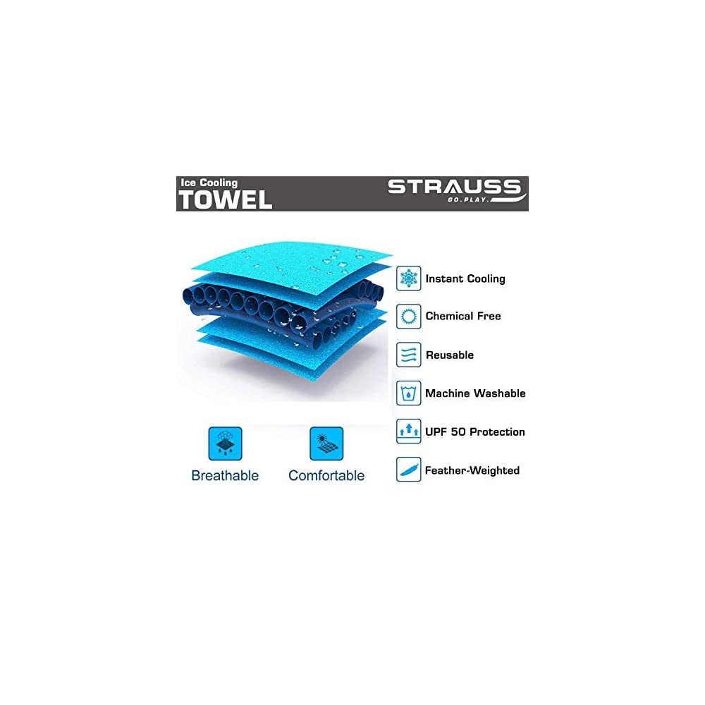 best quality multi purpose Strauss Anti Microbial Sports Cooling Towel