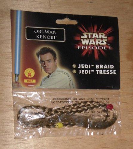 Obi Wan Kenobi Episode 1 Costume (Obi-Wan Kenobi Jedi Hair Braid - Star Wars Episode 1: The Phanton Menace)