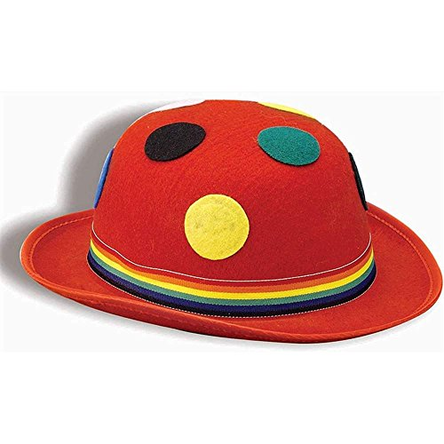 (Forum Novelties Polka Dot Red Derby Hat)