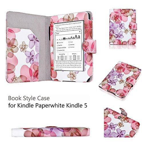 Amazon Kindle Paperwhite Floral Purple