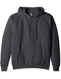 Men's Pullover EcoSmart Fleece Hooded Sweatshirt